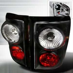 04 06 Ford F150 Flareside Altezza Tail Lights Black