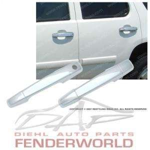 CHEVY SILVERADO 07 08 2DR CHROME DOOR HANDLES COVERS