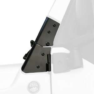 Rugged Ridge 11209.02 Black Windshield Hinge Automotive