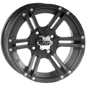 ITP SS212 Wheel   12x7   5+2 Offset   Matte Black