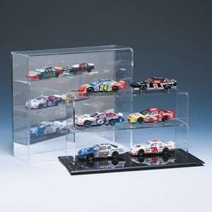 6 Car 1/64 Scale Car Display w/Mirror Back Sports
