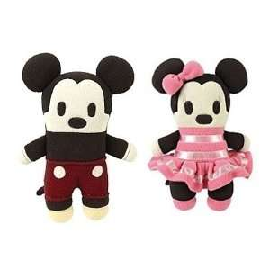 Disney Mickey & Minnie Mouse 12 Plushes Pook A Looz
