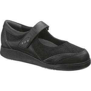 HUSH PUPPIES Womens Prevail Shoe, Black H502321