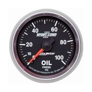 Auto Meter 3621 2 1/16 0 100 PSI Mechanical Oil Pressure