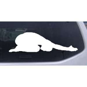 Yoga Pose Silhouettes Car Window Wall Laptop Decal Sticker