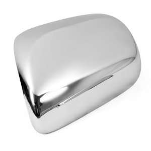 Triple Chrome Door Side Rear Mirror Covers Moulding Trims