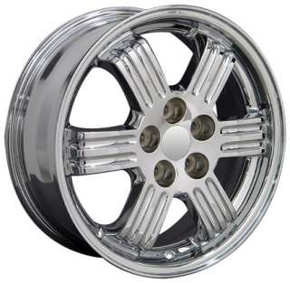 17 Rims Fit Mitsubishi Chrome Eclipse Wheels 17 x 6.5