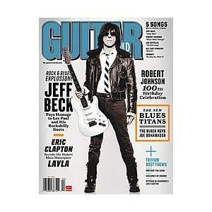 Guitar World Magazine Back Issue   April 2011 Musical