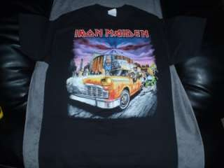 Iron Maiden 2010 Final Frontier New York City Shirt