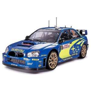 24 Subaru Impreza WRC Monte Carlo 2005 Car Model Kit Toys & Games