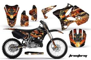 AMR RACING OFF ROAD MOTORCYCLE GRAPHIC DECAL MX KIT YAMAHA YZ 125/250