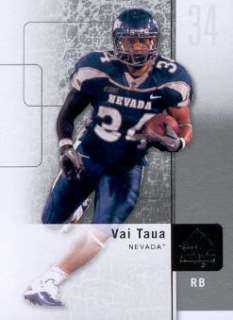 2011 SP Authentic #38 Vai Taua Nevada Wolf Pack
