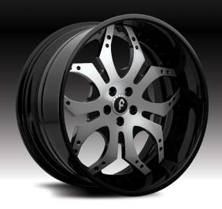 22 FORGIATO TELLO CUSTOM FORGED WHEELS STAGGERED
