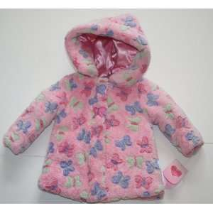 Bon Bebe Girls Winter Coat Size 18 Months   Pink