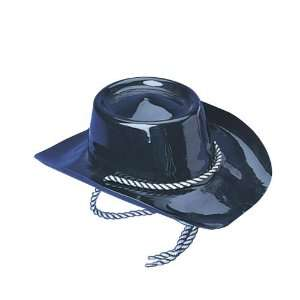 Black Plastic Cowboy Hat Toys & Games