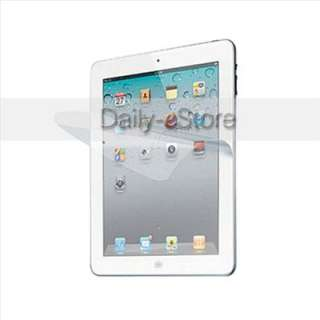 3X Clear LCD Screen Protector Cover Films for The New iPad 3 3rd