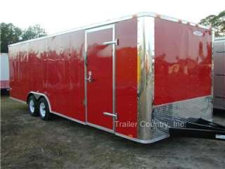NEW 8.5x20 8.5 x 20 Enclosed Carhauler Cargo Trailer