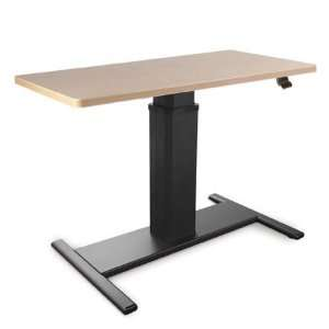 Sis Move Spring Height Adjustable Desk   Rectangle