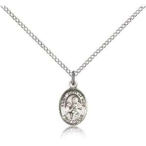 .925 Sterling Silver St. Saint John of God Medal Pendant 1
