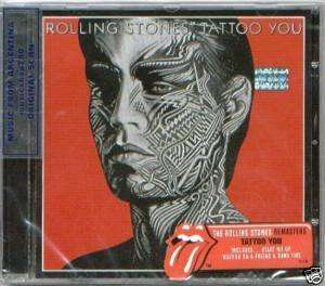 THE ROLLING STONES, TATTOO YOU – REMASTERS 2009. REMASTERED. FACTORY