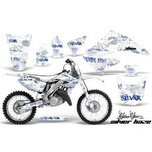 AMR Racing Honda Cr250 Mx Dirt Bike Graphic Kit   1995 2008 Silver