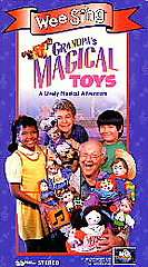 Wee Sing   Grandpas Magical Toys (VHS, 1995) 096898242134