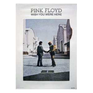 Pink Floyd (Wish You Were Here, Man on Fire) Music Poster