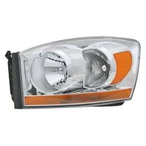 OE Replacement Dodge Pickup Driver Side Headlight Lens