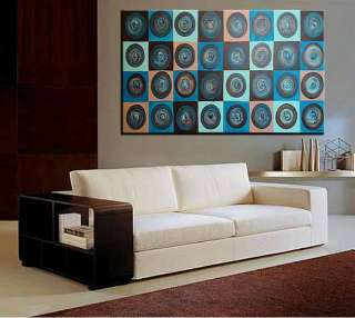 Huge Original Oil paintings Abstract Modern Art Contemporary deco