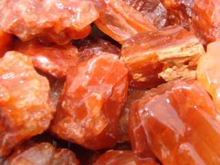 SUPER RED CALCITE   Rough Rock for Tumbler / Polisher
