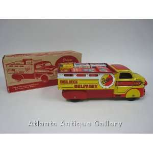 Marx 1950s Deluxe Delivery Truck Toys & Games