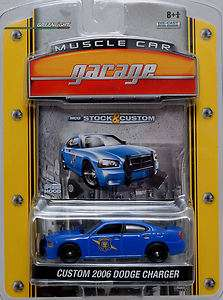 State Police Car 2006 Dodge Charger Limited Edition Greenlight