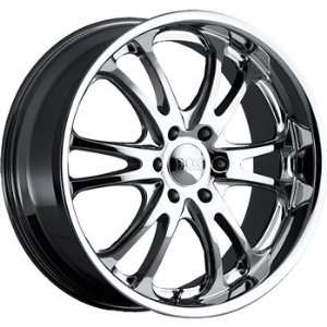 Boss 313 24x10 Chrome Wheel / Rim 6x5 with a 40mm Offset and a 94.62