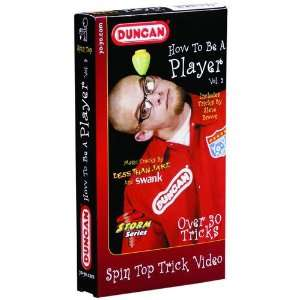 How To Be A Player Spin Top Video Toys & Games