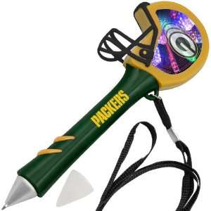 Green Bay Packers Green Light Up Mirror Pen Sports