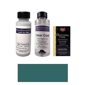 com 2 Oz. Ocean Blue Metallic Paint Bottle Kit for 2004 Mercedes Benz