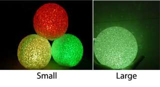 Color Change Crystal Ball LED Night Light Lamp Candle Decoration