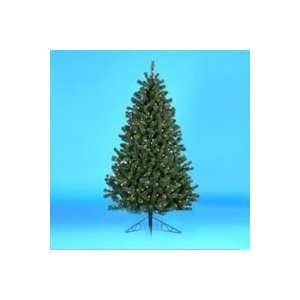 New   7.5 Pre Lit Norway Pine Decorative Christmas Half