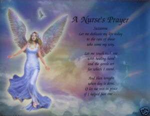 NURSES PRAYER PERSONALIZED POEM NURSES GIFTS FOR CHRISTMAS, NURSE