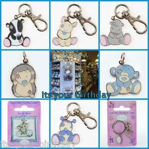 Me To You Tatty Teddy Blue Nose Friends Keyring Charm