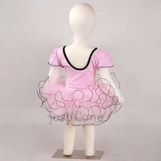 Girl Party Long Short Sleeve Sleeveless Ballet Dance Tutu Costume