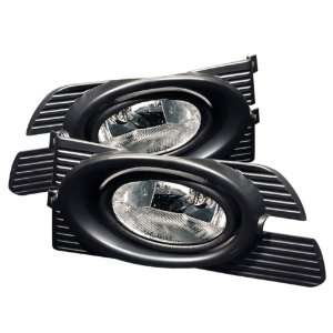 01 02 Honda Accord 4Dr OEM Style Clear Fog Lights