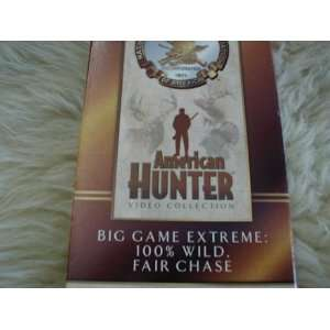 VHS Big Game Extreme 100% Wild, Fair Chase Everything