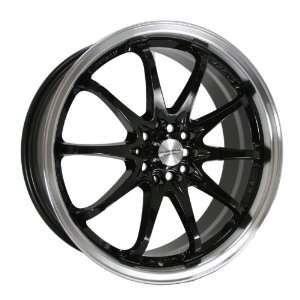 Kyowa Racing Series 206 Black   19 x 7.5 Inch Wheel