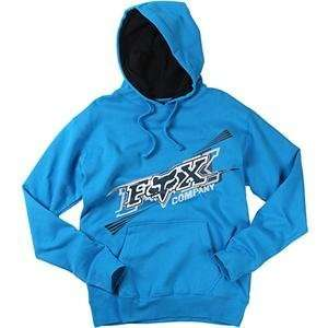 Fox Racing Dash Hoody   2X Large/Electric Blue Automotive
