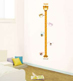 Height Measure Wall Stickers Removable Vinyl Decals