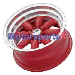 15 8 XXR RED 513 wheels rims Datsun 240z 260z 280z JDM