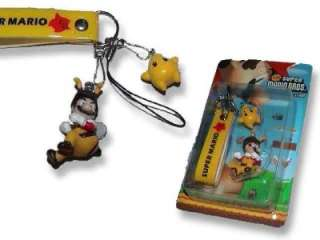 Bee Super Mario Bros Galaxy Phone Charm Strap w Luma UK