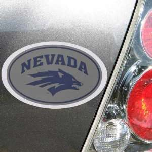 Nevada Wolf Pack Oval Magnet Automotive
