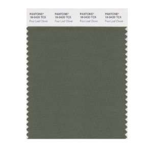 PANTONE SMART 18 0420X Color Swatch Card, Four Leaf Clover